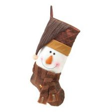 Buy Smiling Snowman Holiday Stocking