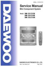 Buy DAEWOO AXW-212 214 215 Manual by download #183652