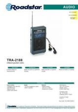 Buy ROADSTAR TRA-2188 by download #128508