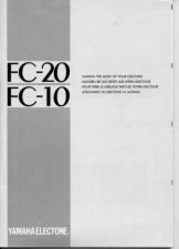 Buy Yamaha FC20E_1 Operating Guide by download Mauritron #203700