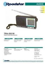 Buy ROADSTAR TRA-2931N by download #128529
