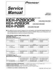 Buy PIONEER C2281 Service Data by download #152525