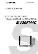 Buy TOSHIBA MV20FM4C SVM Service Schematics by download #160280