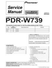 Buy PIONEER R2264 Service Data by download #153248