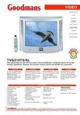 Buy GOODMANS TVG210TS SL by download #125636
