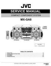 Buy JVC MX-GA8UM Service Schematics by download #156313