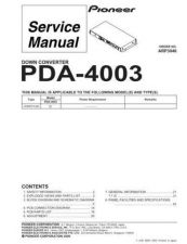 Buy PIONEER A3046 Service Data by download #148653