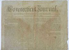 Buy CT New Haven Newspaper Title: Connecticut Journal Date: Mar-8-1797~17