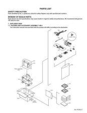 Buy Yf050par Service Schematics by download #132279
