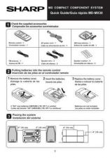 Buy SHARP MDMX30 GUIDE by download #128776