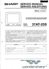 Buy Sharp 37AT25S SM SUPPLEMENT GB-DE Manual.pdf_page_1 by download #178381