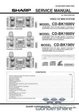 Buy Sharp 99 CDBK190V Manual.pdf_page_1 by download #178930