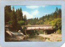 Buy CA Santa Cruz Covered Bridge Postcard Paradise Park Bridge World Guide Num~17