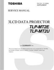 Buy TOSHIBA 333-200006 Service Schematics by download #159902