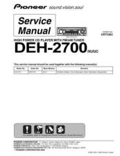 Buy PIONEER C3363 Service Data by download #149207