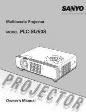 Buy Sanyo PLCXU41(OM5110654-00) Manual by download #175021