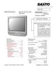 Buy Sanyo DS32224(SS780048) Manual by download #174081