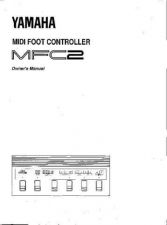 Buy Yamaha MFC2E Operating Guide by download Mauritron #204825