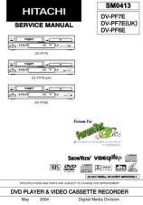Buy Hitachi DVP305E SM 9004E Manual by download Mauritron #186033