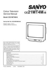 Buy Sanyo CE21MT4M-B-00 S Manual by download #171536