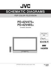 Buy JVC PD-42V475sch Service Manual by download #156434