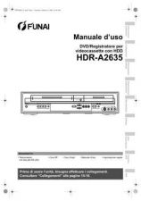 Buy Funai HDR-A2635 E434AED IT 0209 BYR2 Operating Guide by download #162595