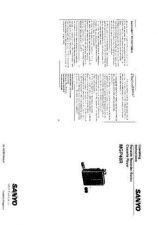 Buy Sanyo MCH-S980L Operating Guide by download #169423