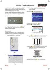 Buy Philips LG Panel CLOCK AND PHASE ADJUSTMENTS P9 Service Schematics by download #