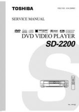 Buy TOSHIBA SD300X SVCMAN Service Schematics by download #160364