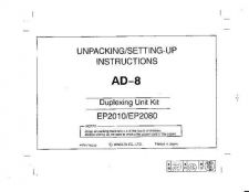 Buy Minolta AD8 Service Schematics by download #137445
