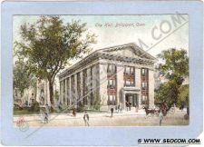 Buy CT Bridgeport City Hall Street Scene w/Horses & Wagons ct_box1~265