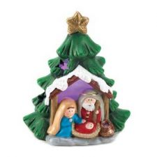 Buy Light-up Nativity Tree Decor