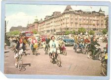 Buy DNK Copenhagen Sport Bicycle Cyclists In Town Hall Square Copenhagen sport~347