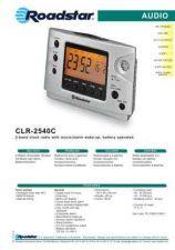 Buy ROADSTAR CLR-2540C by download #127926