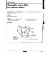 Buy INTEGRATED CIRCUIT DATA BA6219BJ Manual by download Mauritron #186626