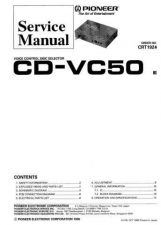 Buy PIONEER CD-R150 151 Service Manual by download Mauritron #193568