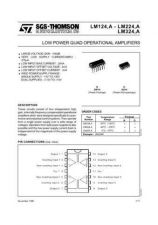 Buy SEMICONDUCTOR DATA LM324, 124, 224J Manual by download Mauritron #189198
