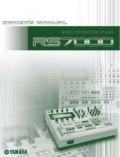 Buy Yamaha RS7000E1 Operating Guide by download Mauritron #205208