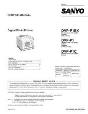 Buy Sanyo DVD-X5-02 Manual by download #174191
