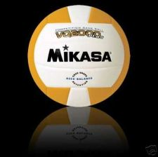 Buy MIKASA VQ2000 INDOOR VOLLEYBALL GOLD/WHITE NEW