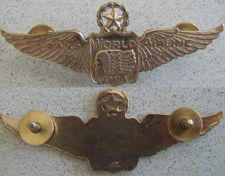 Buy Trans World Airlines 1945-50 Pilot wing Sterling w GP