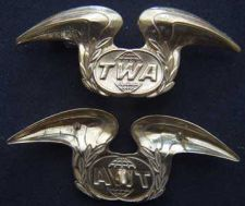 Buy Trans World Airlines Hat Badge Sterling w GP