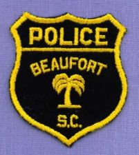 Buy BEAUFORT (~Old) SOUTH CAROLINA Police Patch PALM TREE