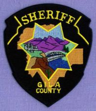 Buy GILA COUNTY SHERIFF ARIZONA Police Patch RIVER BRIDGE
