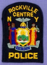 Buy ROCKVILLE CENTRE (~Old) NEW YORK Police Patch NY SEAL
