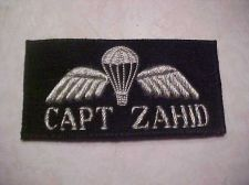 Buy Pakistan Army Airborne Name Tag,bullion