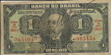 Buy 1944 Brazil 1 Mil Reis (Cruzeiro) Bank Note Campos Salles P 131A