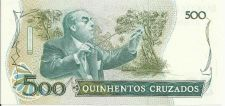 Buy BRAZIL 500 Cruzados Banknote Note p212d