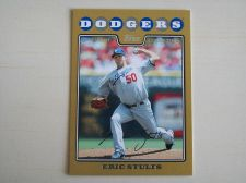 Buy 2008 Topps Update GOLD #UH162 Eric Stults DODGERS /2008