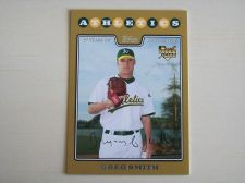 Buy 2008 Topps Update GOLD RC #UH170 Greg Smith ATHLETICS /2008